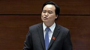 Bộ trưởng Giáo dục Phùng Xuân Nhạ