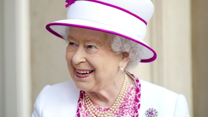 Queen Elizabeth II visits Marlborough House
