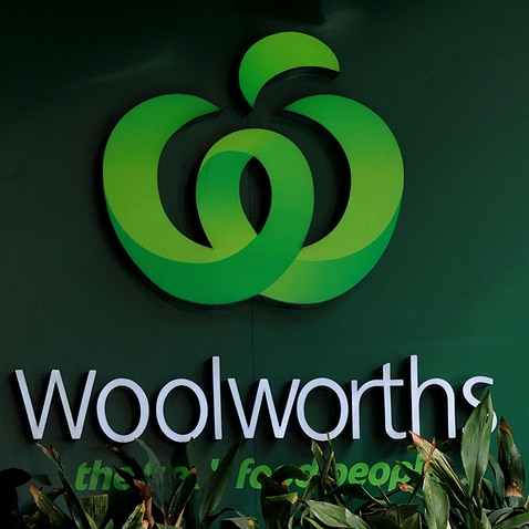 Woolworths signage