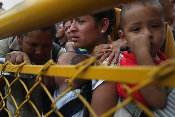 A large number of families are still being held back by border crossings.
