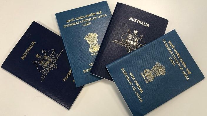OCI cards and Australian passports