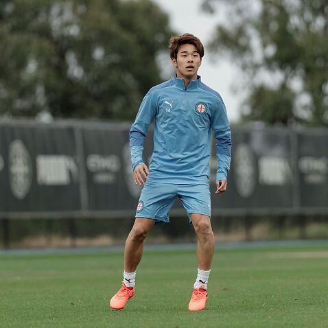 Melbourne City FC Naoki Tsubaki