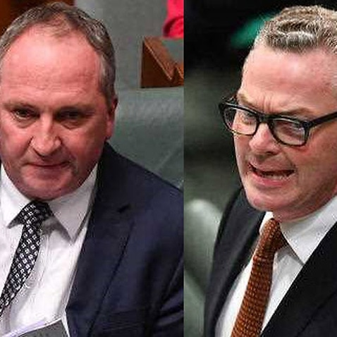 'Joyce is still a human being': Nationals dig in behind Barnaby