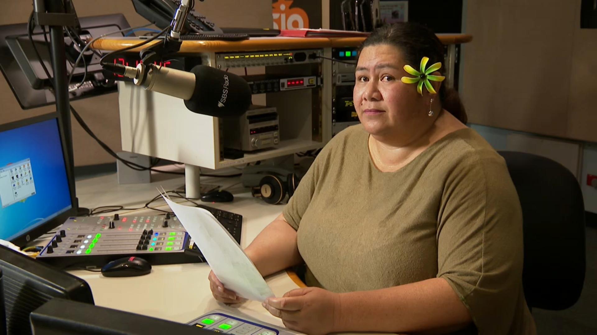 SBS Samoan's Miriama Pomare