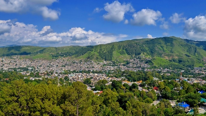 A morning view of Abbottabad.
