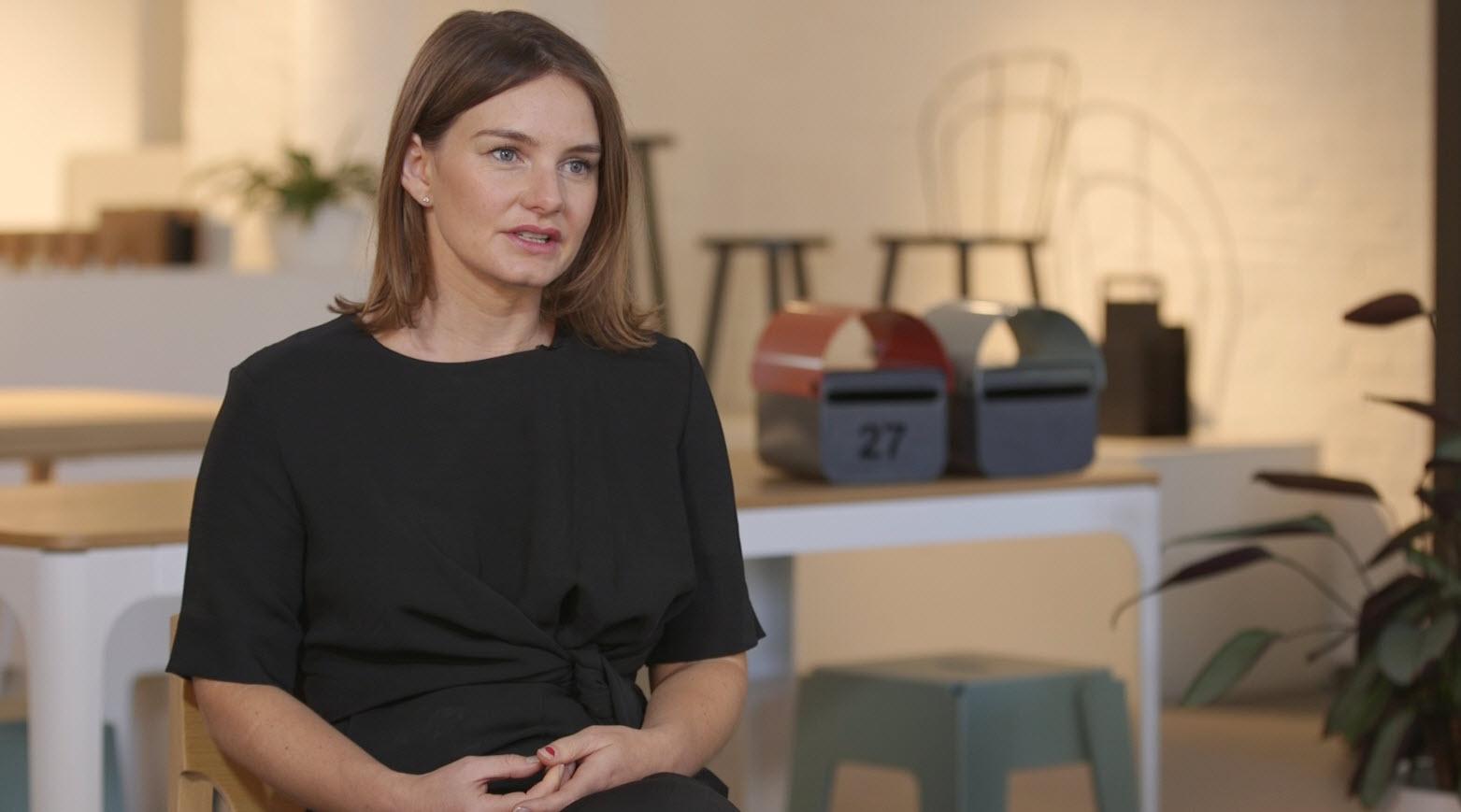 DesignByThem co-founder Sarah Gibson.