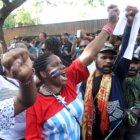 Riots break out in Indonesia's West Papua province