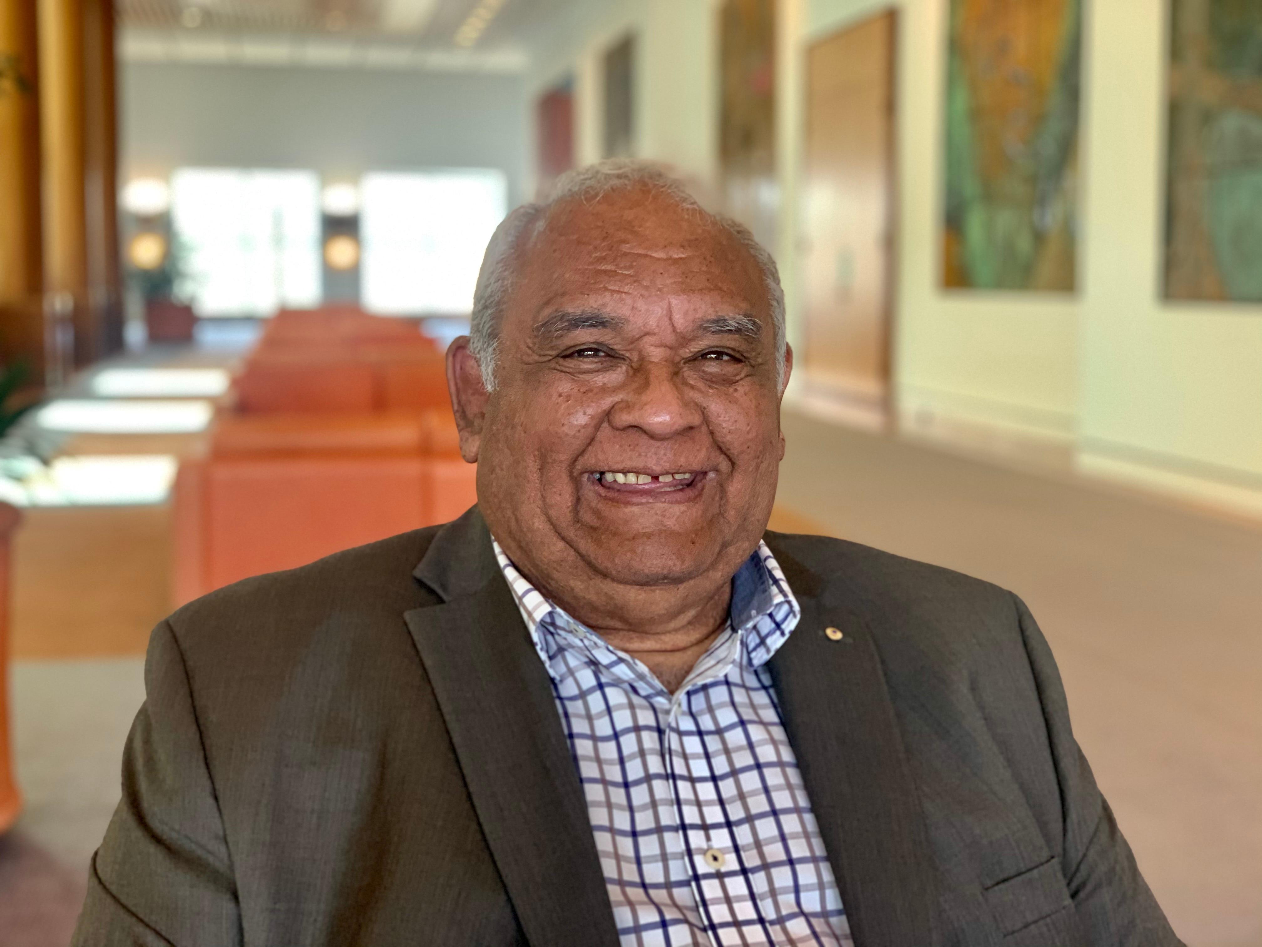 Professor Tom Calma is an Aboriginal Elder from the Kungarakan tribal group and a member of the Iwaidja tribal group.