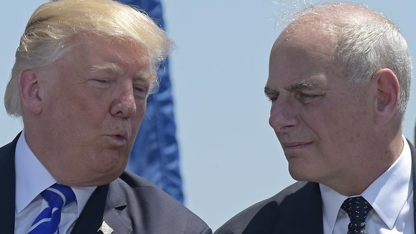 Trump Chief Of Staff John Kelly To Leave Amid Rumours Of