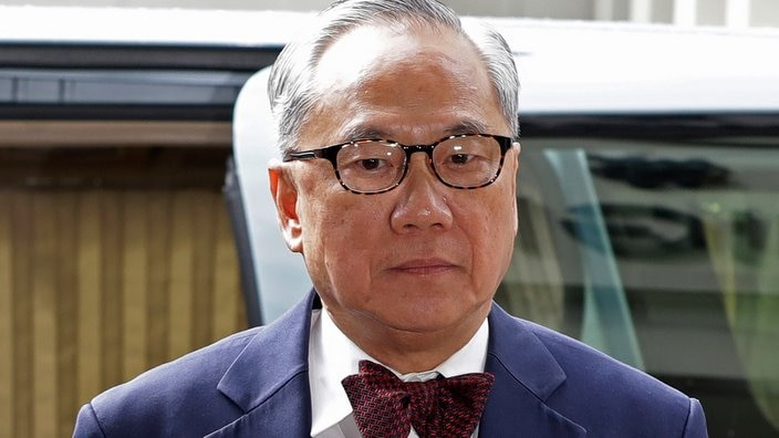 Former Hong Kong Chief Executive Donald Tsang