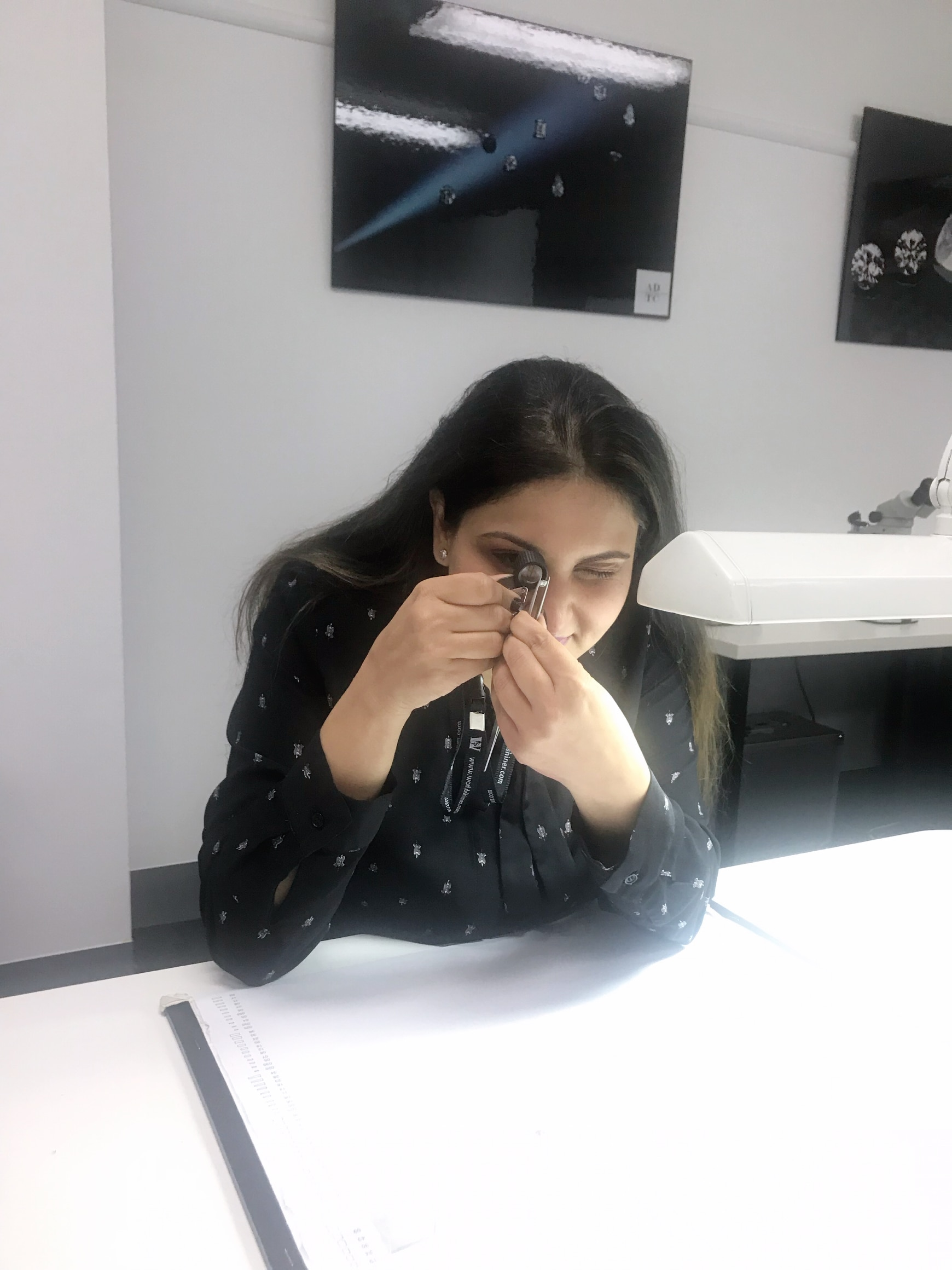 Ms Reet Phulwani at work