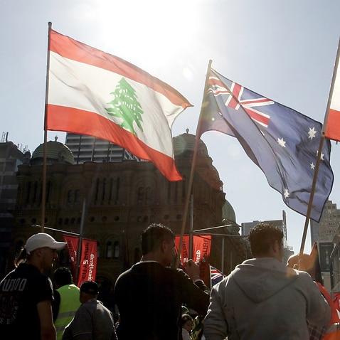 lEBANON aUSTRALIA FLAG