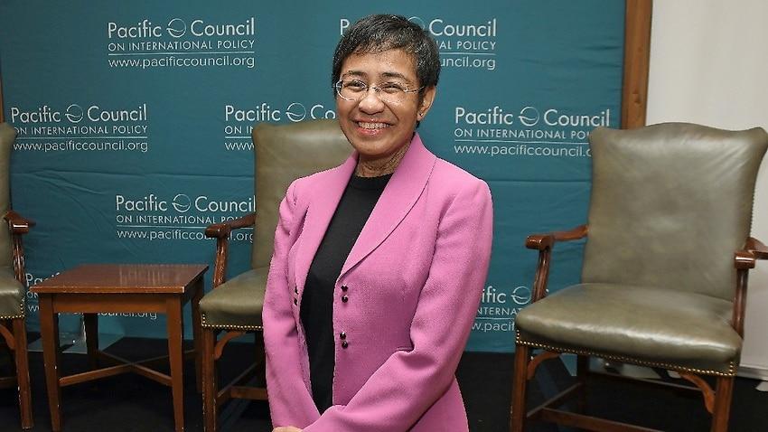 Rappler CEO and Executive Editor Maria Ressa.
