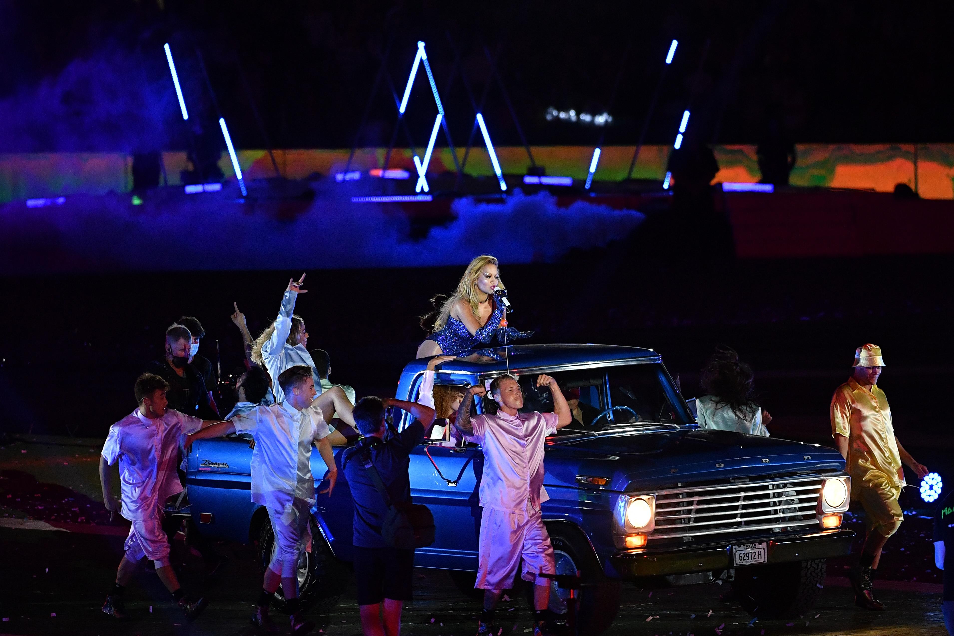 Rita Ora headlined the 43rd annual Sydney Mardi Gras.