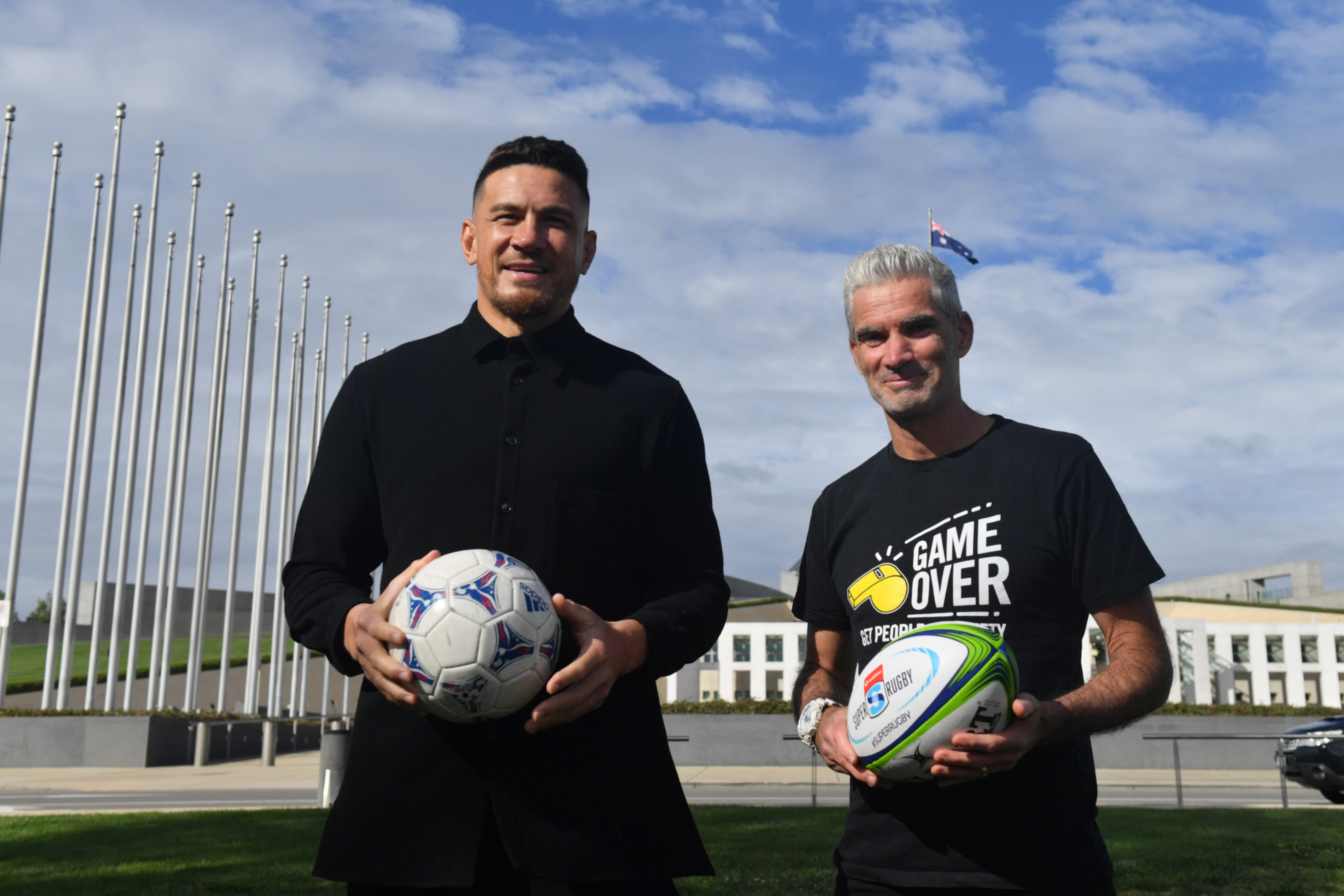 Craig Foster and Sonny Bill Williams say it is beyond time the New Zealand refugee deal was accepted.