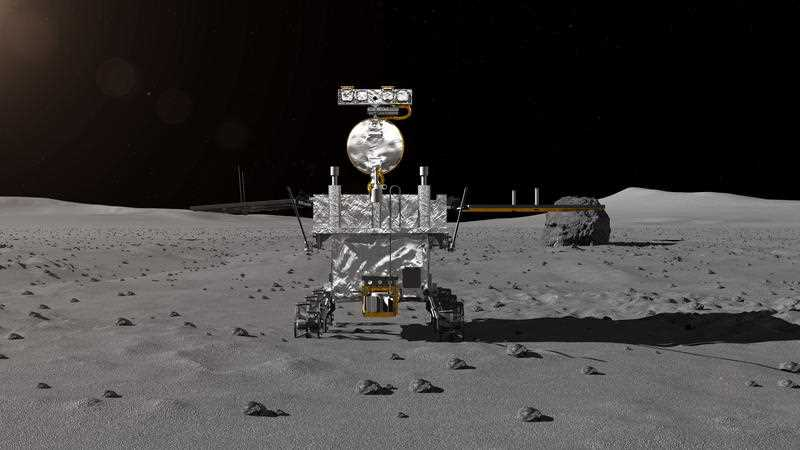 China lunar probe sheds light on 'dark' side of the moon