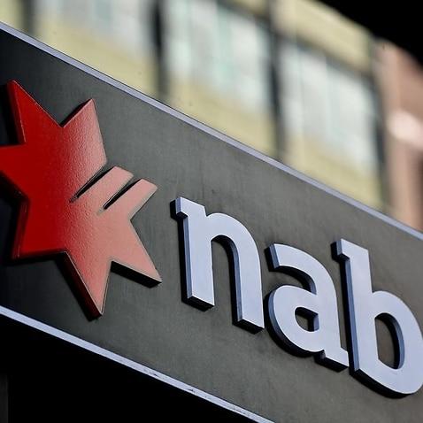 NAB sign on building