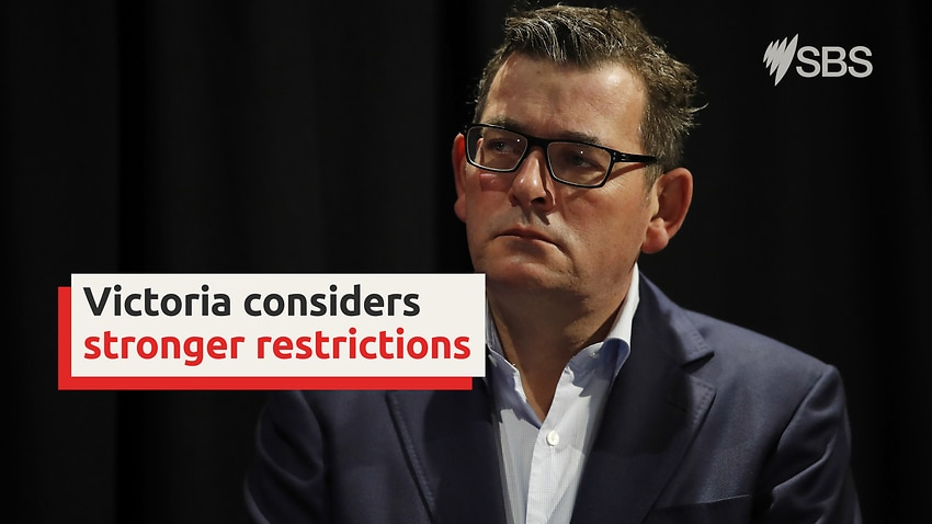Victoria considers stronger COVID-19 restrictions