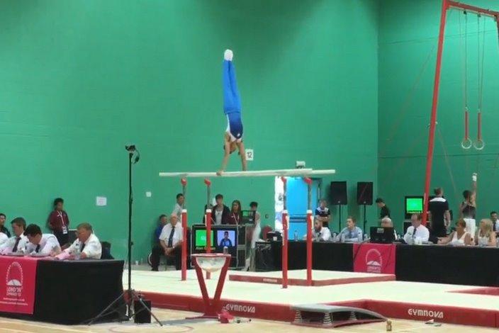 Alan Osman, gymnast