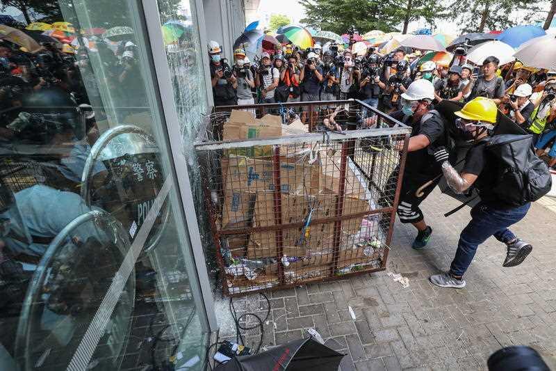 Hong Kong violence has just begun