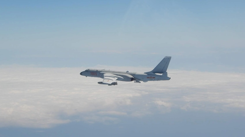 Image for read more article 'China sends 56 jets into Taiwan defence zone in another record incursion'