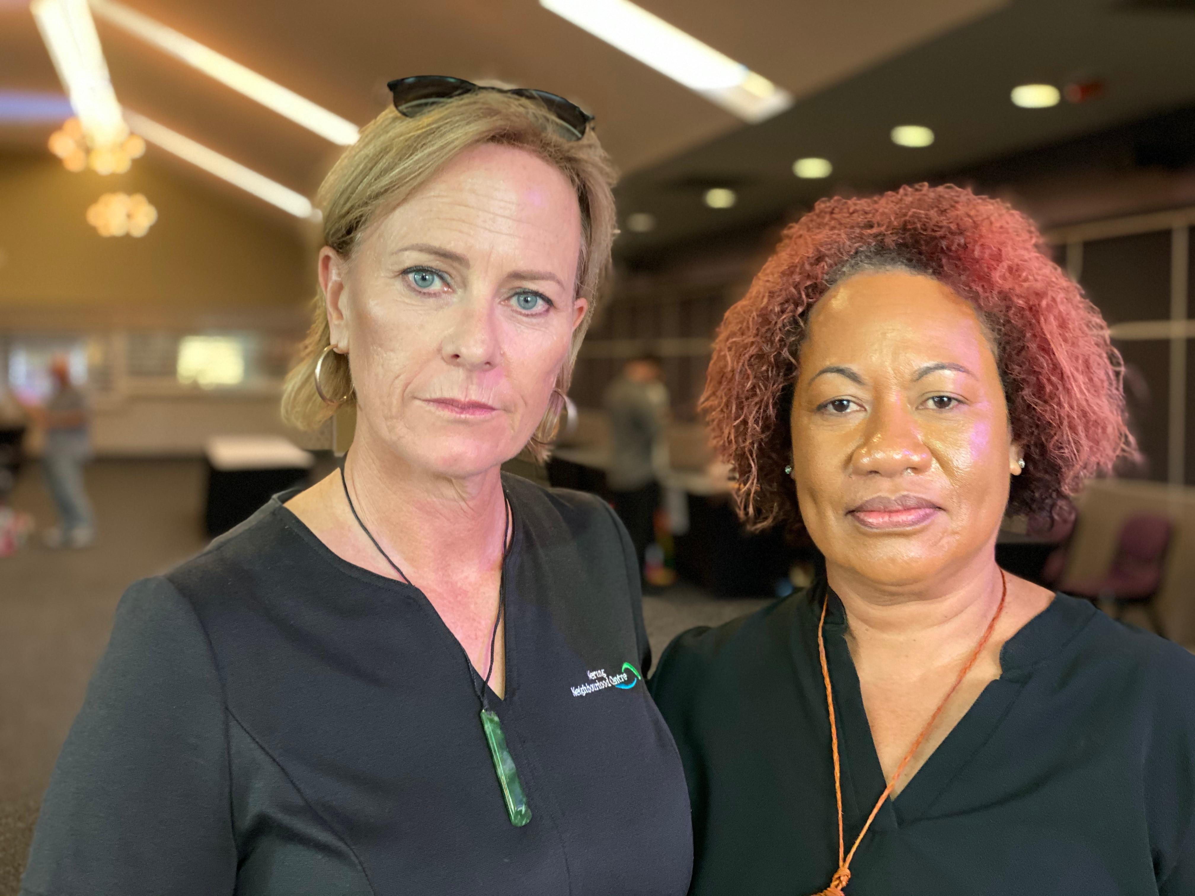 Vicky Rose and Ema Vueti