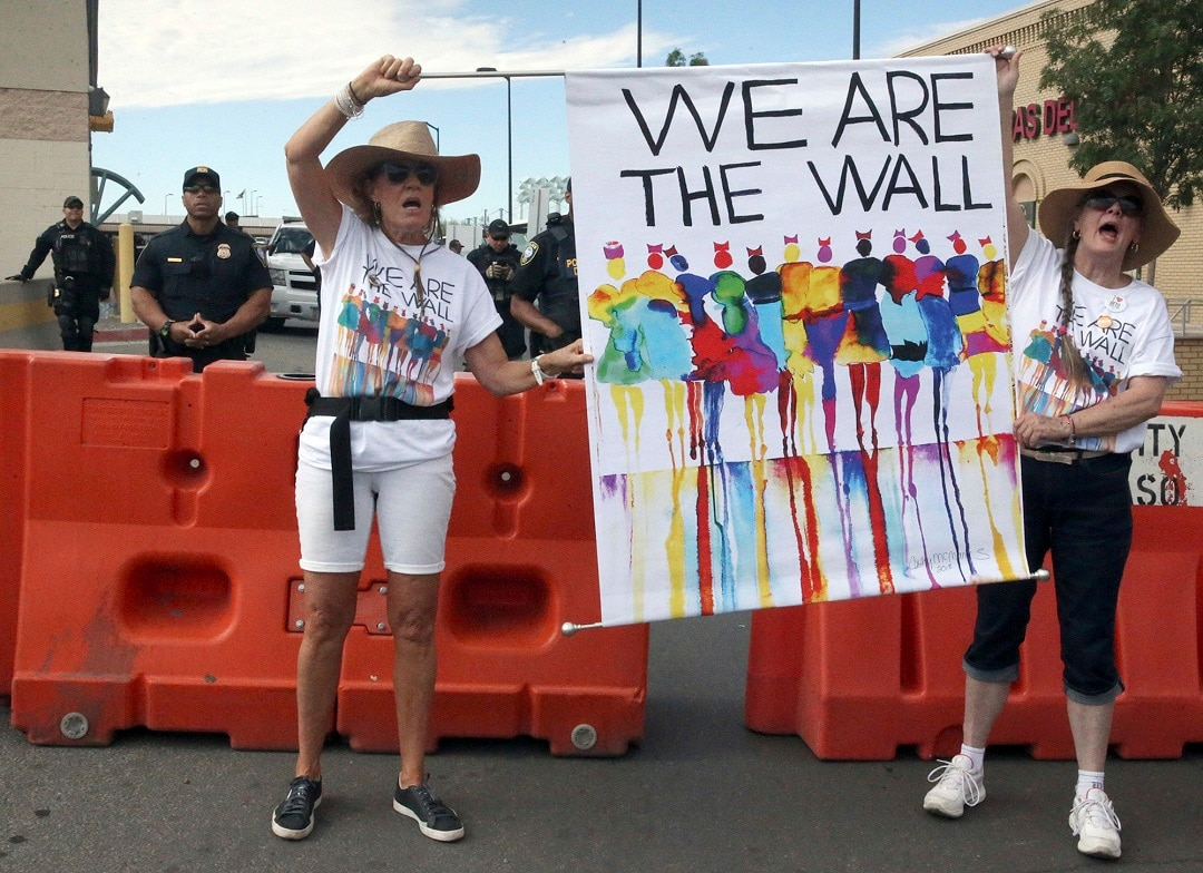 Crowds, including those in east Idaho, protest Trump's immigration policies
