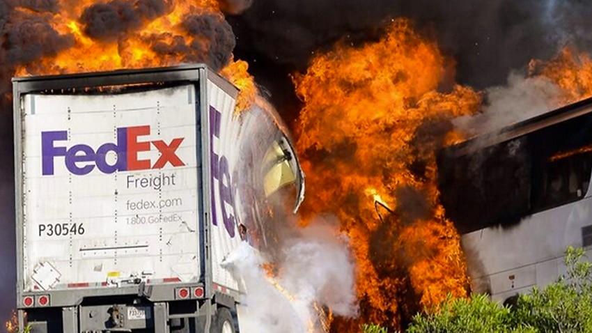 Ten dead in California bus crash