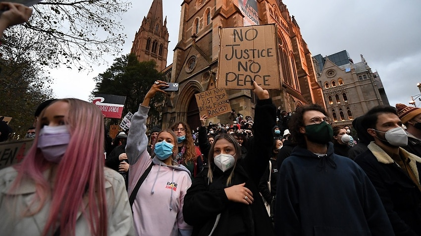 Image for read more article 'Greg Hunt says Black Lives Matter protests contributed to Melbourne coronavirus spike'