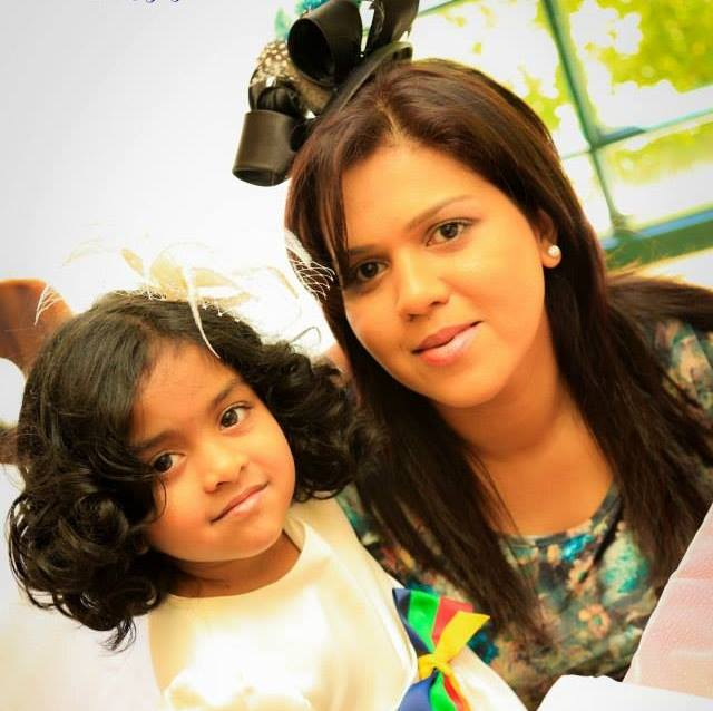 Manik Suriaaratchi and her 10-year-old daughter Alexendria were killed in the blast at a church in Negombo.