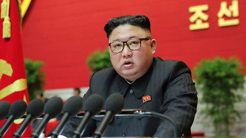 Image for read more article 'Kim Jong-un says nuclear submarine plans are complete and the US remains North Korea's 'biggest enemy''