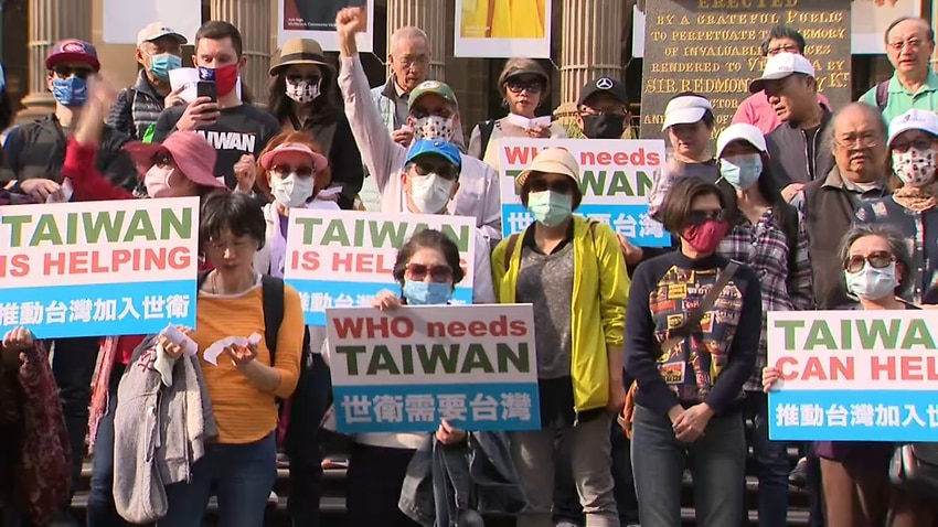 Image for read more article 'Letting Taiwan join the WHO could stave off the next pandemic, Taiwanese Australians say'