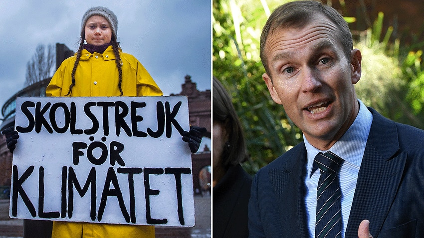 Image for read more article ''Your statement belongs in a museum' 16-year-old Greta Thunberg tells Liberal MP'