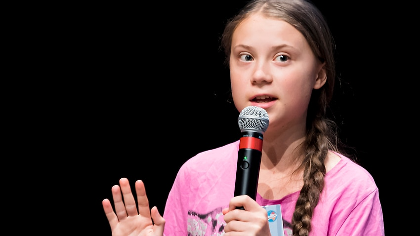 Image for read more article 'Greta Thunberg: World leaders must prove they've listened to climate activists'