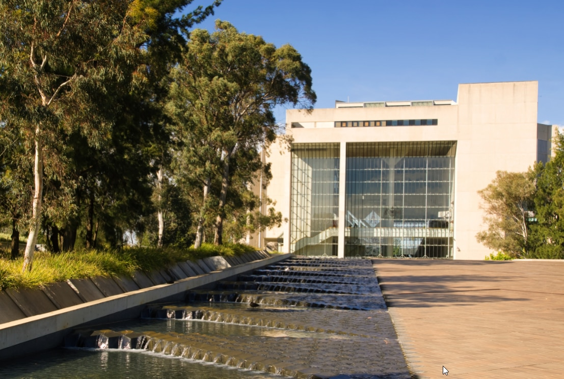 The High Court of Australia in Canberra.