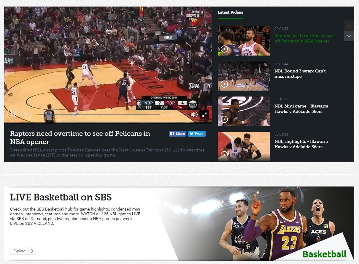 SBS NBA Highlights