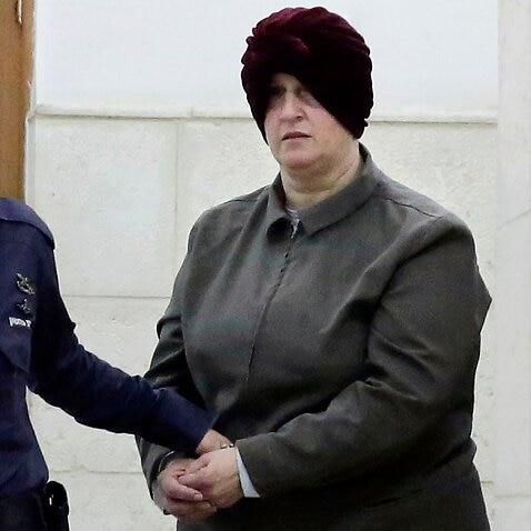 エルサレムの裁判所でのマルカ・ライファー