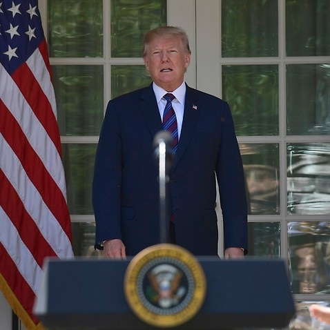 President Donald Trump appears to have toned down is attack on Syria and Russia.