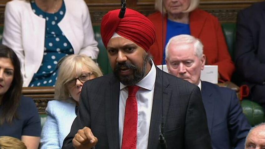 Image for read more article 'Sikh MP slams Boris Johnson over 'racist remarks' against Muslim women'