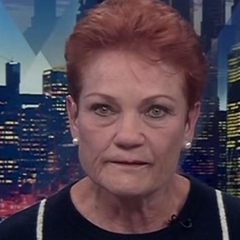 Pauline Hanson on Sky News.