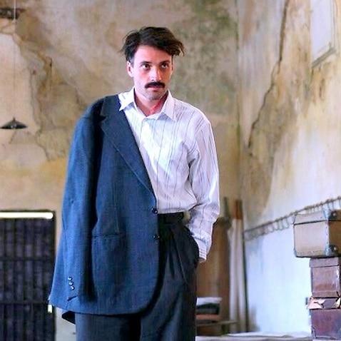 Greek actor Andreas Konstantinou, in Pantelis Voulgaris's film 'The Last Note'.