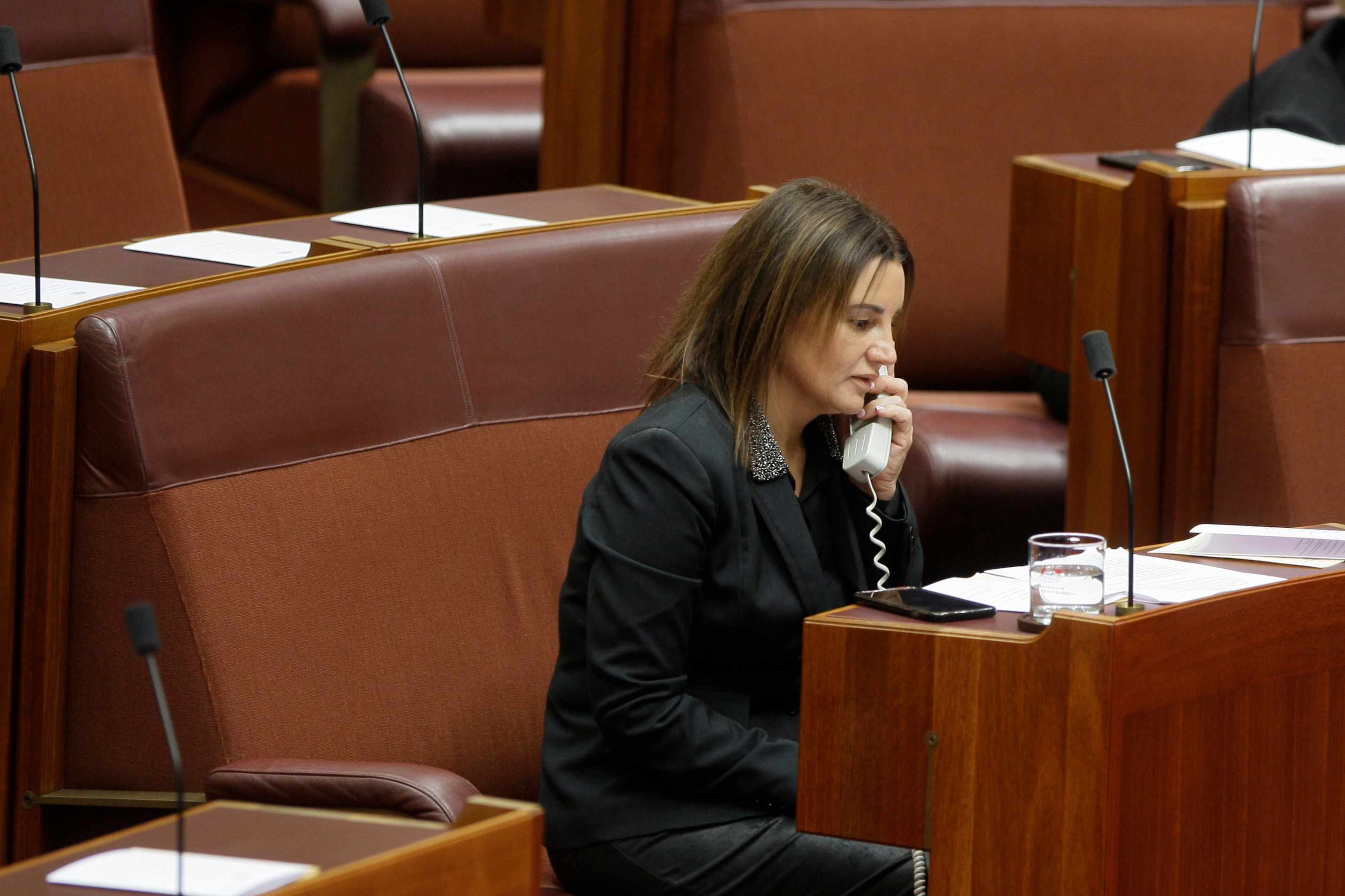 Independent Tasmanian Senator Jacqui Lambie was crucial to the fate of the tax cuts.