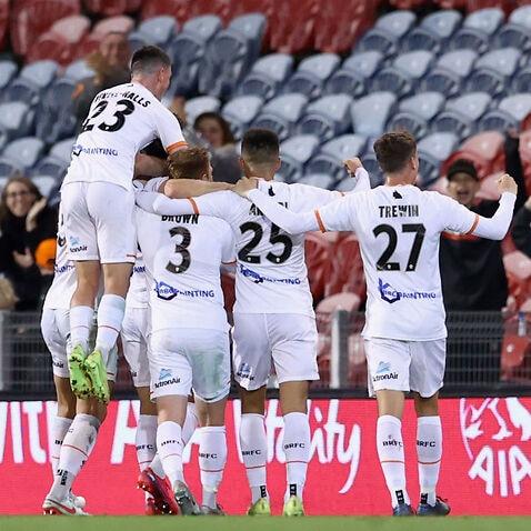 A-League - Newcastle v Brisbane