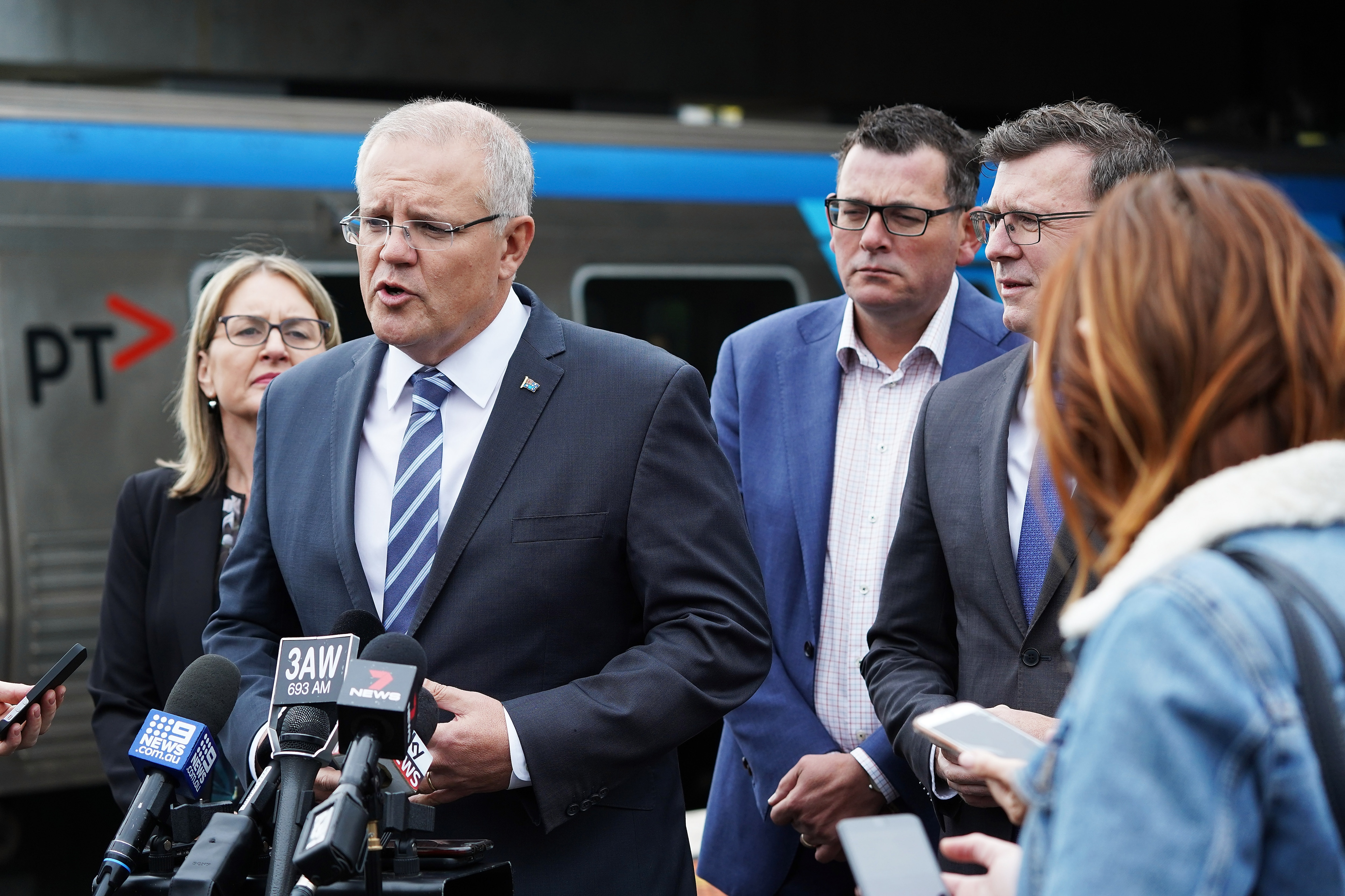 Prime Minister Scott Morrison says a living wage would force businesses to sack workers.