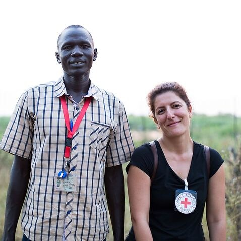 Dorsa Nazemi-Salman in South Sudan.