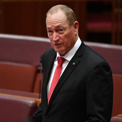 Katters Australian Party Senator Fraser Anning makes his first speech in the Senat