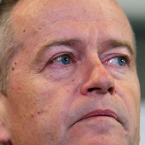 Bill Shorten became emotional as he talked about his mother.
