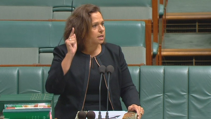 Labor MP Michelle Rowland in the House of Representatives on Monday.