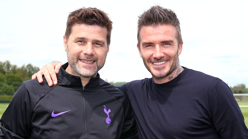 Beckham wishes he was playing for me at this stadium, says Pochettino