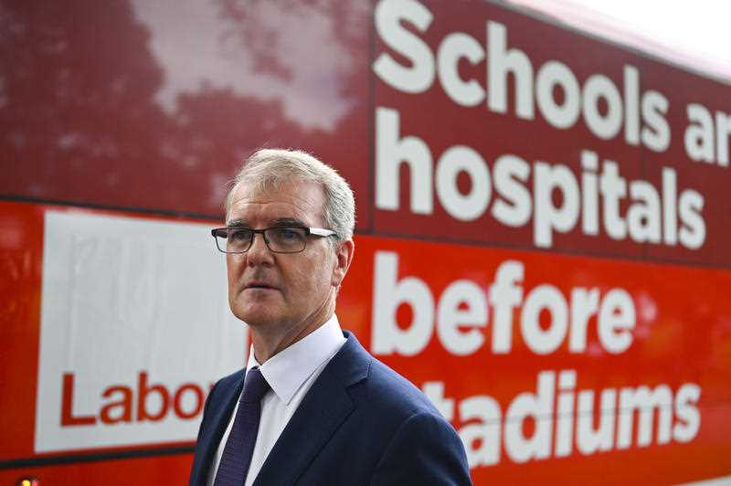 Michael Daley was unable to recall how much NSW Labor had pledged to spend on schools and TAFE.